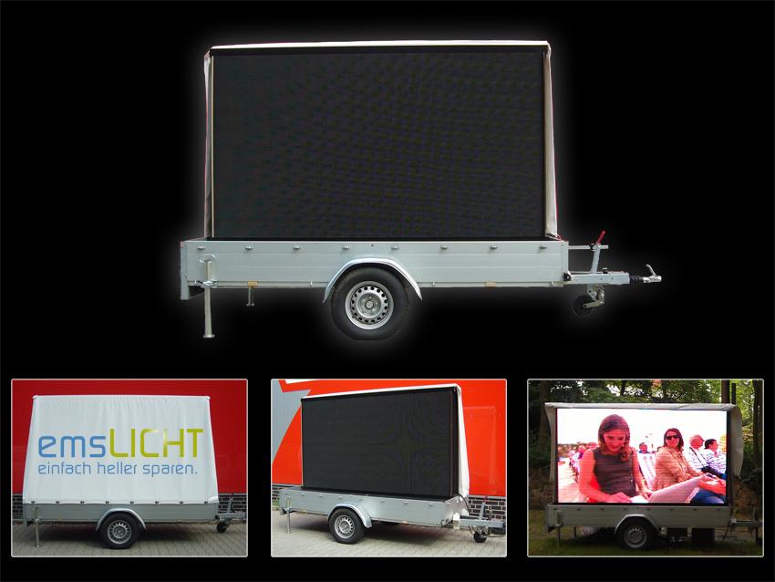 mobile led wall. Black Bedroom Furniture Sets. Home Design Ideas